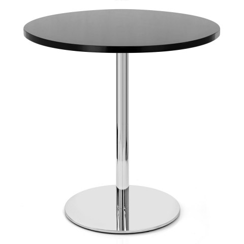 Carrera Round Dining Table Black