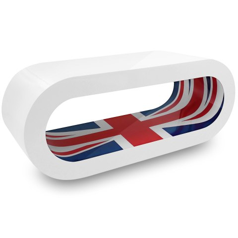 White Orbit Coffee Table Union Jack Inner