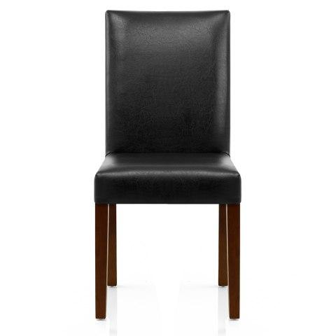 Chicago Walnut Dining Chair Black Atlantic Shopping