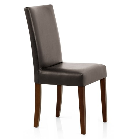 Chicago Walnut Dining Chair Brown