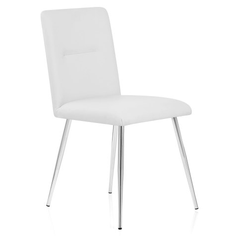 Donna Dining Chair White