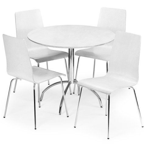 Mandy Dining Set White