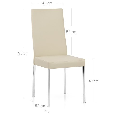 Julietta Dining Chair Cream