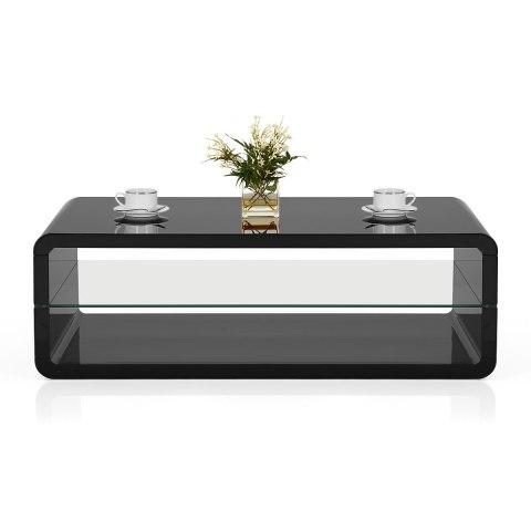 black coffee table. Omega Coffee Table Black
