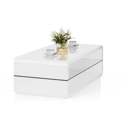 Omega Coffee Table White
