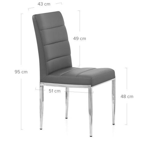 Taurus Dining Chair Grey Atlantic Shopping