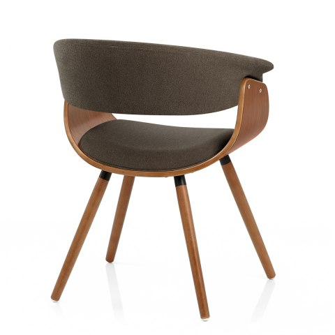 Grafton dining chair walnut brown atlantic shopping - Vieille chaise en bois ...