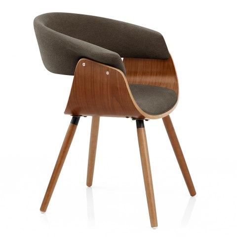 Grafton dining chair walnut brown atlantic shopping - Atlantic shopping dining chairs ...