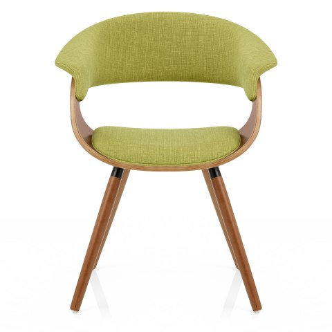 Grafton Dining Chair Walnut Amp Green Atlantic Shopping