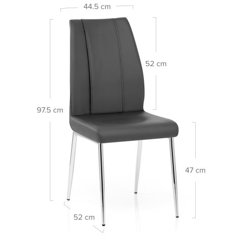 Maxwell Dining Chair Grey