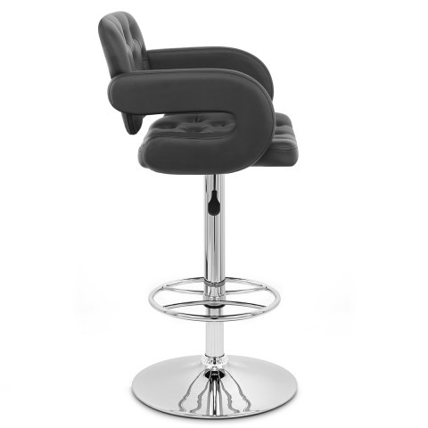 Polaris Bar Stool Black