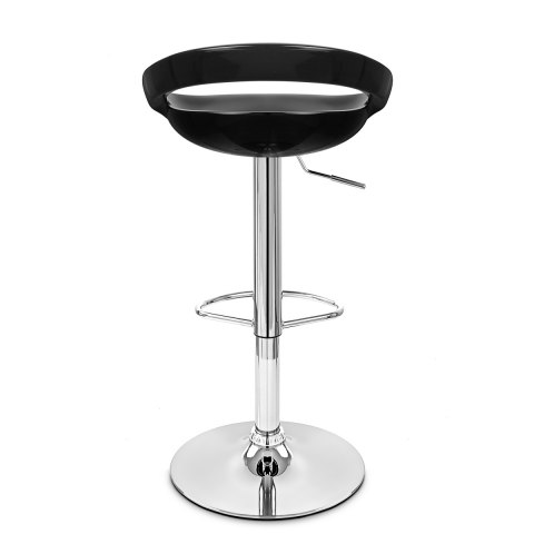 Crescent Bar Stool Black