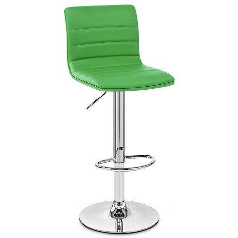 Linear Bar Stool  Green