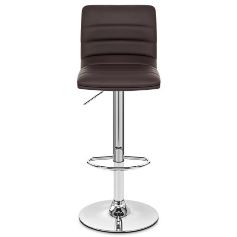 Linear Bar Stool Brown