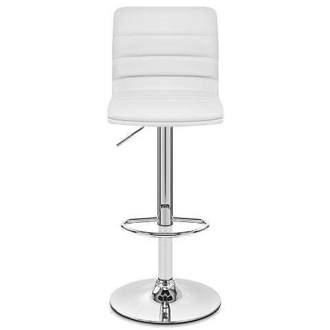 Linear Bar Stool White