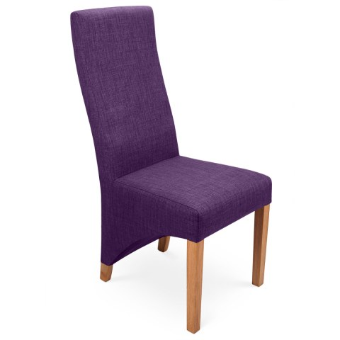Baxter Dining Chair Purple
