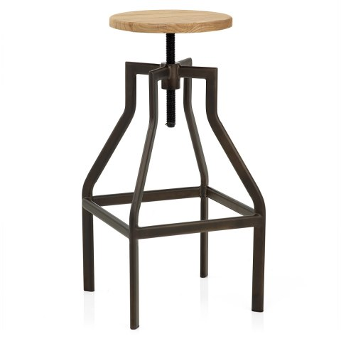 Vintage Revolution Stool Light Wood