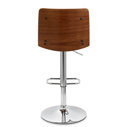 Dusk Walnut Bar Stool