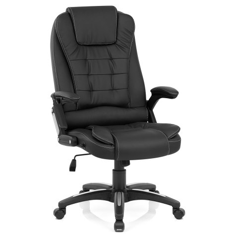 Zara Recline & Massage Chair Black