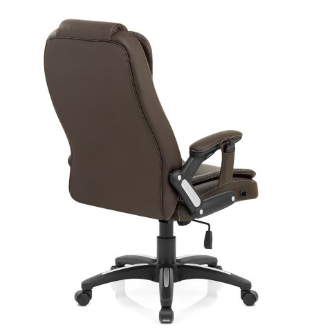 Zara Recline & Massage Chair Brown