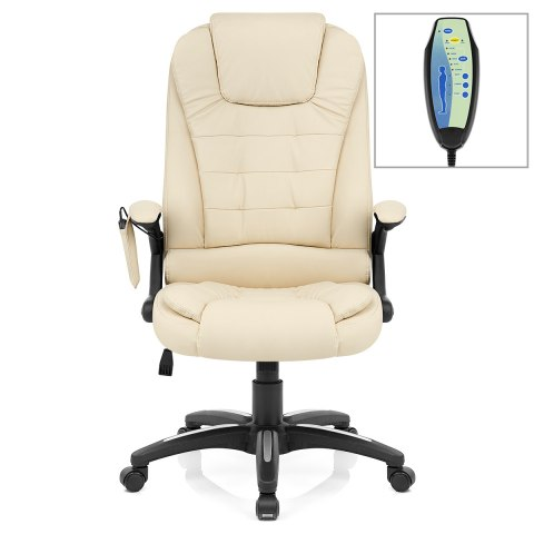 zara recline & massage chair cream - atlantic shopping