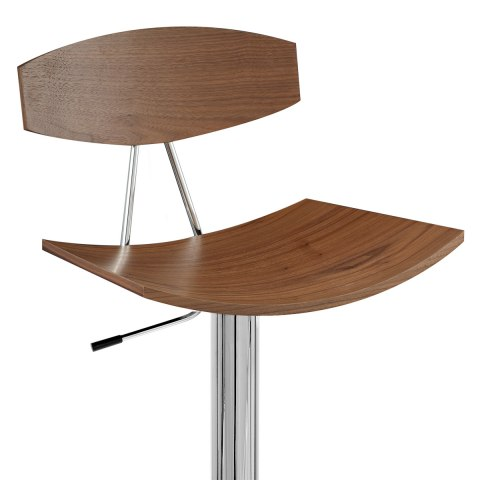 Blade Bar Stool Walnut Atlantic Shopping