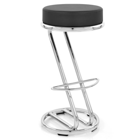 Zizi Kitchen Stool Black