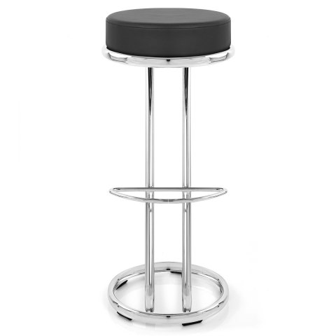 High Zed Bar Stool Black