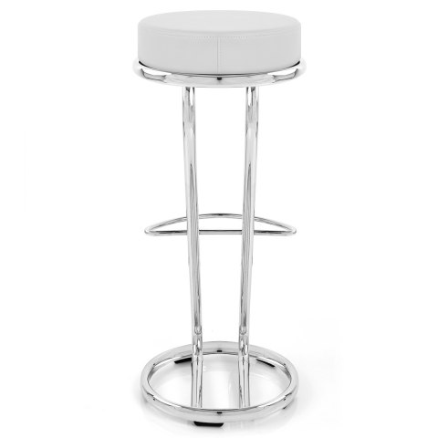 High Zed Bar Stool White