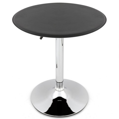Faux Leather Bar Stool Table