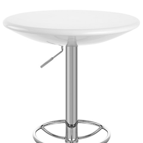 Podium Bar Table White