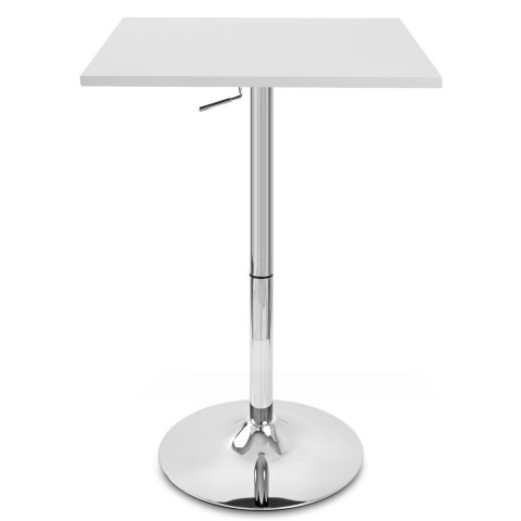 Embassy Gas Lift Bar Table White