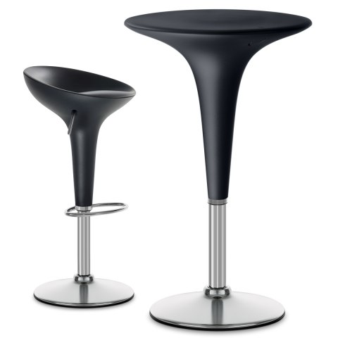 Bombo Bar Table Black