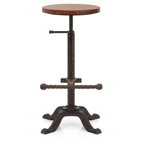 Crank Industrial Stool