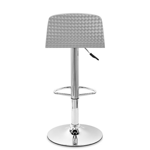 Glam Bar Stool Black & Silver