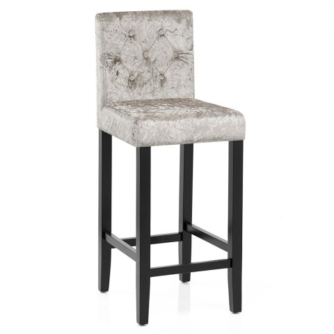 Brookes Bar Stool Mink Velvet
