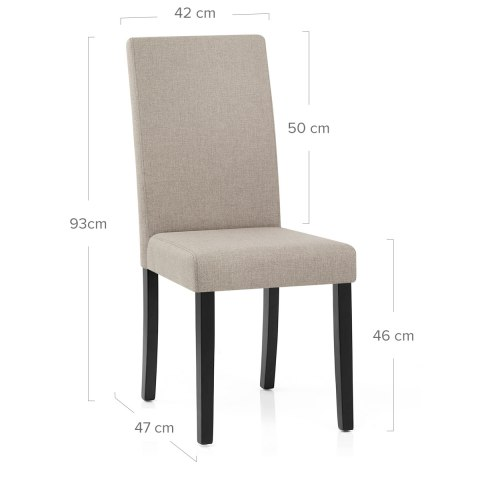 Columbus Dining Chair Tweed
