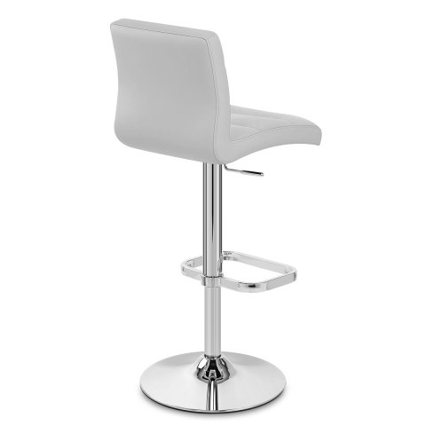 Lush Chrome Stool Grey