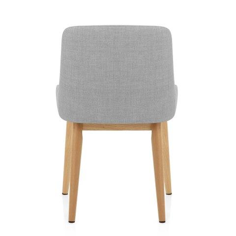 Jersey dining chair oak light grey atlantic shopping - Atlantic shopping dining chairs ...