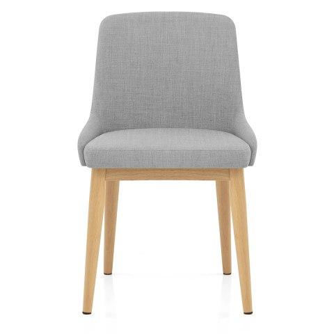 Jersey Dining Chair Oak Amp Light Grey Atlantic Shopping