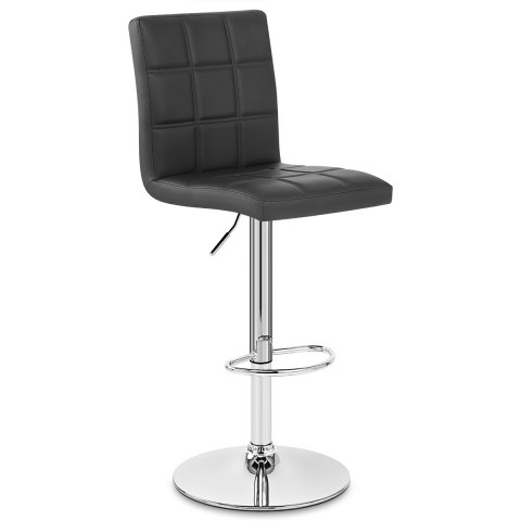 Criss cross bar stool black atlantic shopping - Chaise de bar castorama ...