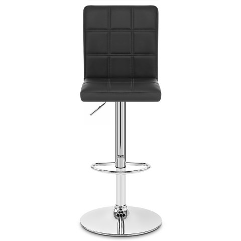 Criss Cross Bar Stool Black