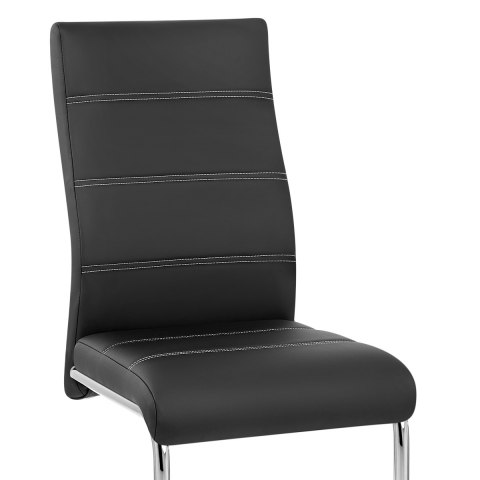 Kappa Dining Chair Black