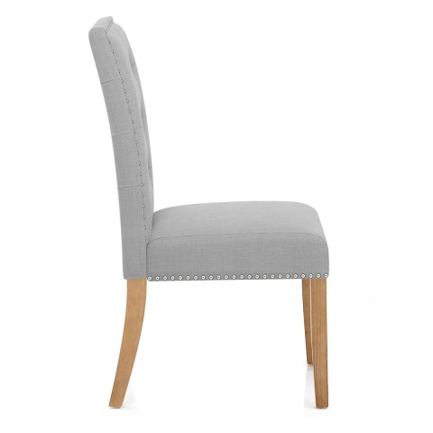 Arlington Dining Chair Grey Fabric