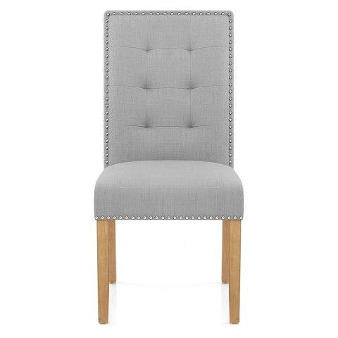 Arlington Dining Chair Grey Fabric Atlantic Shopping