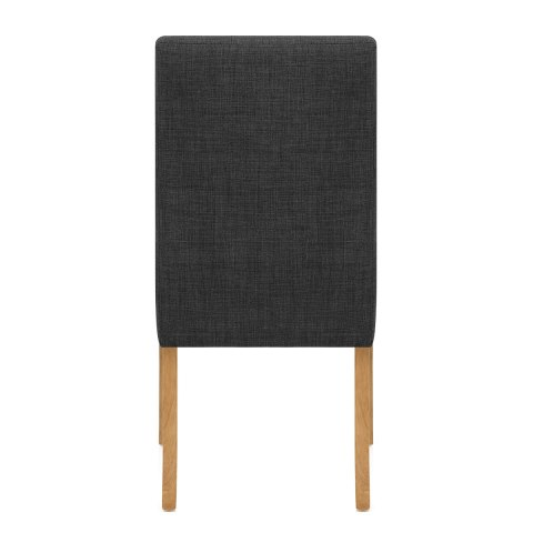 Arlington Dining Chair Charcoal Fabric