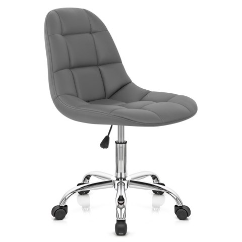 rochelle office chair grey atlantic shopping rh atlanticshopping co uk Best Inexpensive Office Chair Adjustable Computer Chair