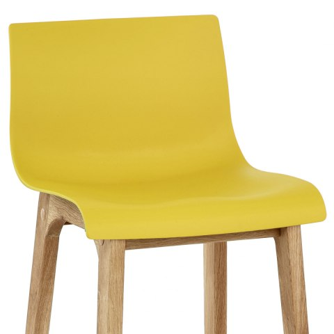 Drift Oak Amp Yellow Bar Stool Atlantic Shopping