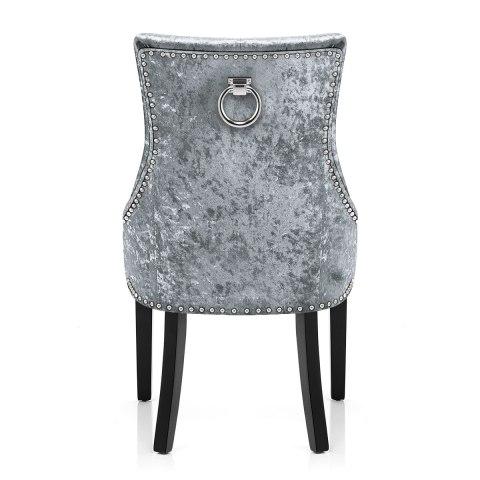 Ascot Dining Chair Grey Velvet Atlantic Shopping