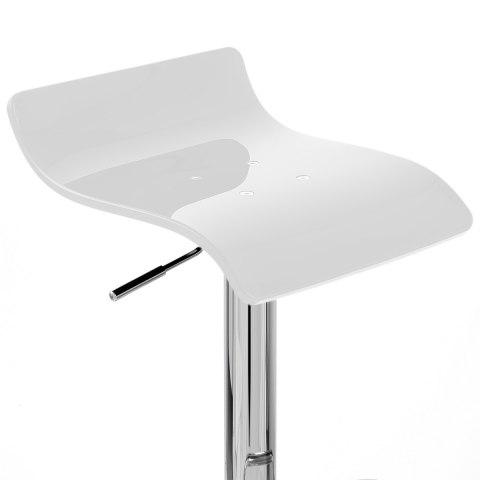 Shimmer Bar Stool White
